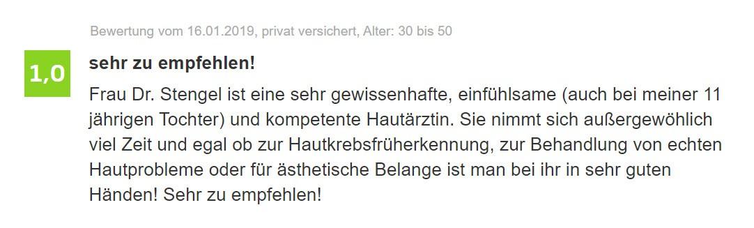 [:de]Hautarzt Bewertung - Dr. Stengel in Starnberg[:]