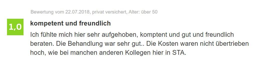 [:de]Hautarzt Starnberg Jameda Bewertung Allgemein[:]